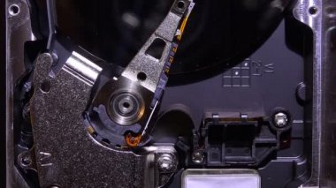 Device and mechanisms HDD — Stockvideo