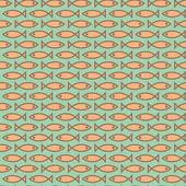鱼的纹理 — 图库矢量图片