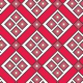 Bright tribal ornament — Vettoriale Stock