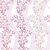 Bezešvé květinová textury — Stock vektor