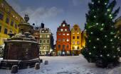 Stortorget at Chritmas time — Stock Photo