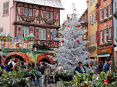 French Christmas Market — Stockfoto