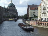 Spree River - Berlin — Stock Photo
