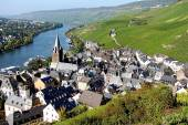 Bernkastel Panorama — Stock Photo