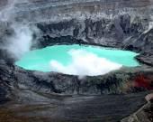 Poás Volcano — Stock Photo