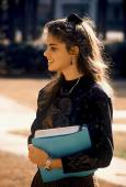 Kvinnlig student — Stockfoto