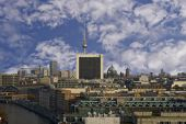 Berlin-Panorama — Stockfoto