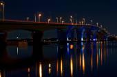 Hathaway Bridge At Night — Stock Photo