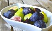 Fruta de figos. — Fotografia Stock