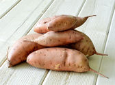 Sweet potatoes. — Stock Photo