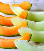 Cantaloupe melon. — Stock Photo