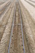 Plowed field. — Stock Photo