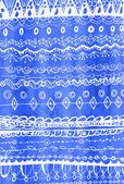 Painted original decorative pattern — Stock Photo