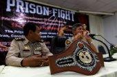 Prison Fight round 6 competition — Foto Stock