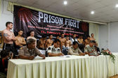 International and Thai fighters — Stock Photo