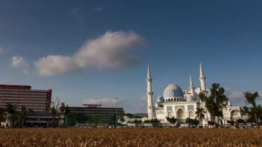 Sultan Ahmad Shah Mosque in Malaysia — Stock Video