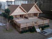 Ruean Galae Wooden House — Stock Photo