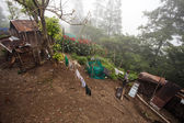 Village settlement in Myanmar — Stock Photo