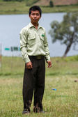 Government Administration Official man in Myanmar — Stock Photo