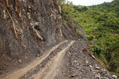 Dirt Road in Myanmar — Stock Photo
