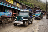 Transportation truck in Remote Myanmar Village — Stock Photo