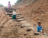 Local Children in Myanmar — Stock Photo