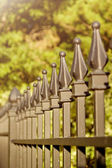 FENCE FINIALS — Stock Photo
