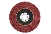 Abrasive flap grinding disc — Stock Photo