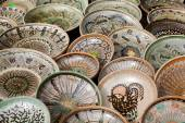 Traditional romanian pottery — Stock Photo