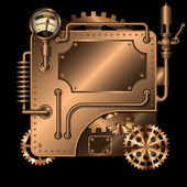 Máquina de steampunk — Vector de stock