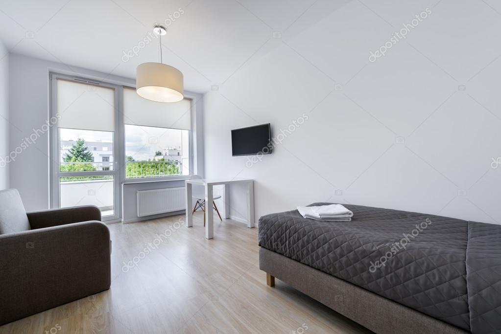 작은, 현대 자 방 인테리어 디자인 — 스톡 사진 © jacek_kadaj #52067681