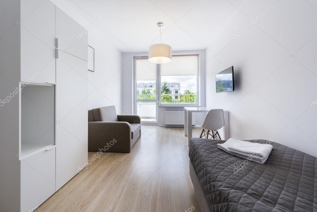 decoracao de interiores quartos de dormir:econômico, moderno, design de interiores do quarto de dormir — Foto
