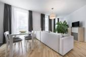 Modern interior design living room — Stock Photo