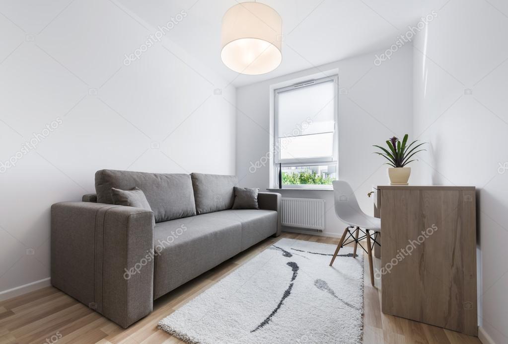 decoracao de interiores quartos de dormir:compacto, moderno, design de interiores do quarto de dormir — Foto