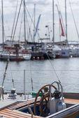 Marina of Gdynia — Stock Photo