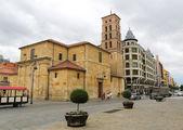 Church of San Marcelo in Leon — Стоковое фото