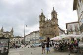 Holy Cross Church in Braga — Stock Photo