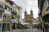 Heilig-Kreuz-Kirche in Braga — Stockfoto