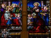 Jesus e as crianças — Fotografia Stock