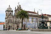 Church of the Carmelites and Our Lady of Mount Carmel in Porto — Stock Photo
