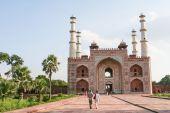 Tomb of Akbar the Great in Agra, Uttar Pradesh, India — Stock fotografie