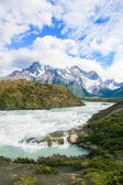 Torres del Paine National Park in Patagonia, Chile — Stock Photo