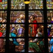 Stained Glass of The Sacrament of Confession in Den Bosch Cathed — Stock Photo #69440657