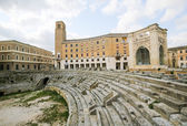 Roman Amphiteatre (2nd Century) in Lecce, Apulia, Italy — Stock Photo