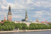 View on Riga, Latvia — Stock Photo