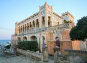 Villa Sticchi in Santa Cesarea Terme, province of Lecce, Apulia, — Stock Photo