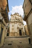 Church of Saint Matthew in Lecce, Puglia, Italy — Stock Photo