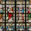 Постер, плакат: Stained Glass depicting the Four Evangelists