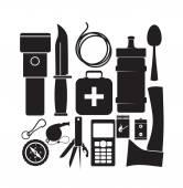 Essentials tools — Stock Vector