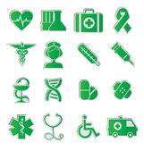 Medical ikony wektor — Wektor stockowy
